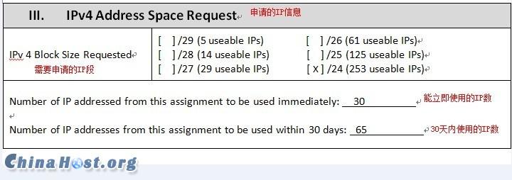 恩祖Budgetvm(ENZU)主机商,IP申请表填写详解,申请IP再也不是难事插图2